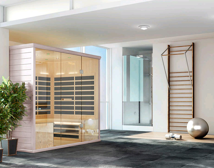 Sauna infra rouge tylo royan sme eau et bains - Sauna infrarouge bienfaits ...